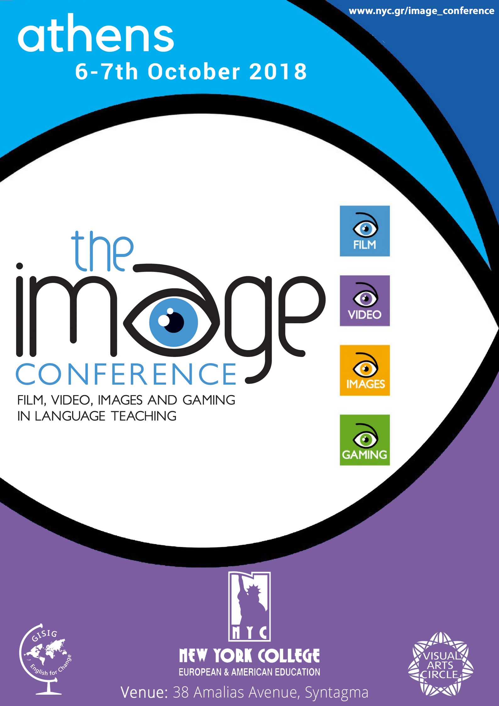Poster Image Conference with Website